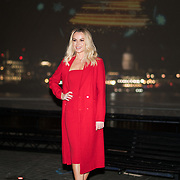Amanda Holden launches npower Light Sky in aid of Macmillan Cancer Support