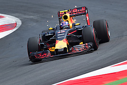 01-07-2016 AUT: Grand Prix van Oostenrijk Formule 1 Red Burg Ring, Spielberg<br /> Dutch Formula One driver Max Verstappen of Red Bull Racing during the Trainings for the Austrian Formula One Grand Prix at the Red Bull Ring in Spielberg<br /> <br /> ***NETHERLANDS ONLY***