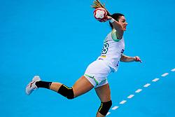 06-12-2019 JAP: Serbia - Slovenia, Kumamoto<br /> last match groep A at 24th IHF Women's Handball World Championship. / Nina Zulic #18 of Slovenia