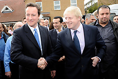 Boris Johnson and Cameron campaign launch 31st March 2008