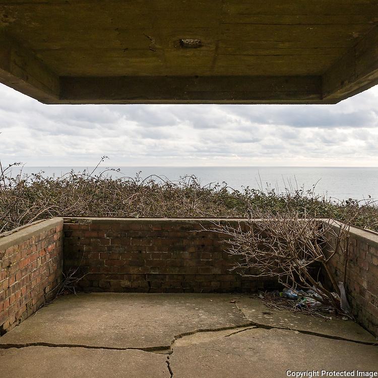 WW2 Ringstead Bay Gun Battery, Dorset.
