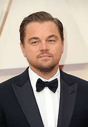 Leonardo DiCaprio at the 92nd Academy Awards held at the Dolby Theatre in Hollywood, USA on February 9, 2020.