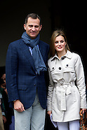 052214 Prince Felipe of Spain and Princess Letizia in their tenth anniversary of their weeding