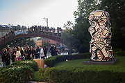 Dubuffet opening, Palazzo Franchetti, Biennale, Venice, 9 May 2019