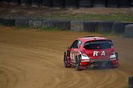 Justin Dowel - Hyundai i20 - Rallycross Australia - Rnd 1 - February 26th 2017. MARULAN DIRT & TAR CIRCUITS, MARULAN, NSW