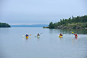 Kayaking on Lake Superior (Great Lakes)<br />