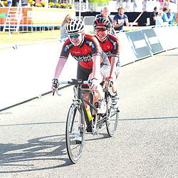 18-06-2017: Wielrennen: NK Paracycling: Montferlands-Heerenberg (NED) wielrennen<br />Titel tandem vrouwen Shie Au Yeung (Haarlem) en Michelle Stummel