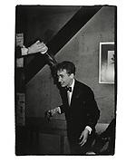 Bill Mackesy baptised. Assasins dinner. Cherwell Boathouse. Oxford. 1980