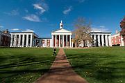 Part of Campus of Washington and Lee University. Lexington. North Carolina. United States of America.