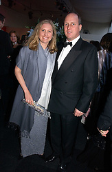 MR & MRS RANDOLPH CHURCHILL, he is great grandson of war time leader Winston Churchill at the 28th Game Conservancy Trust Ball in Battersea Park, London SW11 on 18th May 2006.<br /><br />NON EXCLUSIVE - WORLD RIGHTS