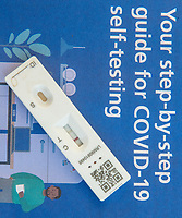 Positive result on a COVID-19 rapid lateral flow test result