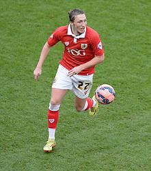 Bristol City's Luke Ayling - Photo mandatory by-line: Alex James/JMP - Mobile: 07966 386802 - 25/01/2015 - SPORT - Football - Bristol - Ashton Gate - Bristol City v West Ham United - FA Cup Fourth Round