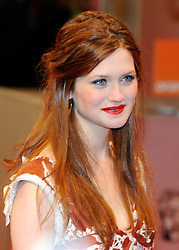 ©London News Pictures. 13/02/2011. Actress Bonnie Wright Arriving at BAFTA Awards Ceremony Royal Opera House Covent Garden London on 13/02/2011. Photo credit should read: Peter Webb/London News Pictures