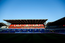 General View inside the stadium - Rogan/JMP - 06/11/2020 - Cardiff City Stadium - Cardiff, Wales - Cardiff City v Bristol City - Sky Bet Championship.
