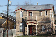 An old clapboard house on South Congress, South Austin