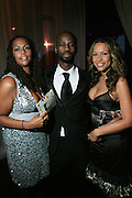"""Kristi Henderson, Brian Michael Cox and Valiesha Butterfield at The Ludacris Foundation 5th Annual Benefit Dinner & Casino Night sponsored by Alize, held at The Foundry at Puritan Mill in Atlanta, Ga on May 15, 2008.. Chris """"Ludacris"""" Bridges, William Engram and Chaka Zulu were the inspiration for the development of The Ludacris Foundation (TLF). The foundation is based on the principles Ludacris learned at an early age: self-esteem, spirituality, communication, education, leadership, goal setting, physical activity and community service. Officially established in December of 2001, The Ludacris Foundation was created to make a difference in the lives of youth. These men have illustrated their deep-rooted tradition of community service, which has broadened with their celebrity status. The Ludacris Foundation is committed to helping youth help themselves."""