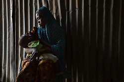 Aisha, 17, comforts her 8-month-old son Mohammed, born of a Boko Haram fighter. Five girls from her family were taken by the militant Islamist group, which began it's insurgency against the Nigerian government in 2009. The terrorist group drew global outrage after abducting more than 270 schoolgirls from the town of Chibok. Many of the girls were forced into marriage and motherhood. The Borno State National Emergency Agency estimates tens of thousands more women and girls have also been kidnapped by militants in less-publicized attacks. In armed conflicts, child marriage is increasingly used as a weapon of war, forcing girls to give birth give birth to the next germination of fighters. Thousands of girls remain missing in Nigeria with little help of rescue. Those who manage to escape struggle with little support to rebuild their lives.
