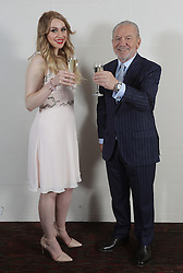 EMBARGOED<br /> ONLY TO BE USED AFTER THE END OF THE APPRENTICE EPISODE AIRING ON BBC ONE ON SUNDAY DECEMBER 18. THIS IS EXPECTED TO BE AT 2201, BUT IF EPISODE TRANSMISSION IS DELAYED, THE USE OF THE IMAGE MUST BE DELAYED ACCORDINGLY. Lord Sugar and Alana Spencer celebrate her winning the 2016 series of The Apprentice, as she becomes his new business partner and wins his £250,000 investment in her luxury cake business.
