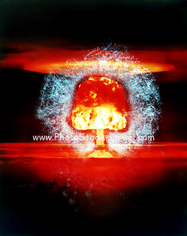 Famous humourous quotes series: Atomic mushroom explosion