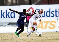 Fotball , 13. april 2013 , Adeccoligaen , 1. divisjon<br /> Stabæk - Kristiansund<br /> <br /> Bi Sylvestre Boli , Stabæk<br /> Mahmoud El Haj , K.sund