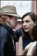 JULIA MUGGENBURG, Drinks party to launch this year's Frieze Masters.Hosted by Charles Saumarez Smith and Victoria Siddall<br />  Academicians' room - The Keepers House. Royal Academy. Piccadilly. London. 3 July 2014