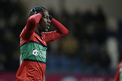 Steven Langil of NEC Nijmegen during the Jupiler League match between Telstar and NEC Nijmegen at the Tata steel stadium on November27, 2017 in Velsen-Zuid, The Netherlands
