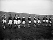 27/11/1955<br /> 11/27/1955<br /> 27 November 1955<br /> Soccer,football Spain v Ireland International at Dalymount Park, Dublin.