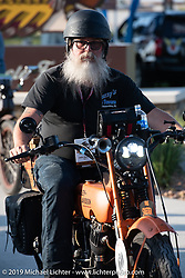 John Bartman riding his 1923 Harley-Davidson J during the Motorcycle Cannonball coast to coast vintage run. Stage 7 (274 miles) from Cedar Rapids to Spirit Lake, IA. Friday September 14, 2018. Photography ©2018 Michael Lichter.