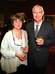 SIR JOHN & LADY BIRT at an exhibition in London on 20th September 1999.MWN 74