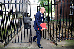 © Licensed to London News Pictures. 13/09/2016. London, UK.  Secretary of State for Work and Pensions DAMIAN GREEN MP arrives at 10 Downing Street in London for cabinet meeting on September 13, 2016. Photo credit: Ben Cawthra/LNP