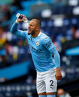 Football - 2019 / 2020 Premier League - Manchester City vs Norwich City<br /> <br /> Kyle Walker of Manchester City  at the Etihad Stadium.<br /> <br /> COLORSPORT/LYNNE CAMERON