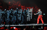 The BRIT Awards 2011, held At The O2 , London, pictured Plan B . pic Dave Nelson .