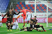 Fotball , Eliteserien<br /> 28.12.2020 , 20201228<br /> Mjøndalen - Sogndal<br /> Mjøndalen jubler for Ole Amund Sveen sitt utligningsmål til 2-2 <br /> Foto: Sjur Stølen / Digitalsport