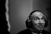 Hungarian Grand Prix 2013<br /> our best selection from Award winning Photographer Darren Heath.<br /> Frank Williams during the race<br /> ©Darren Heath/Exclusivepix