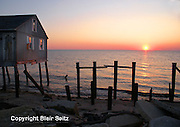 Bay Point, South Jersey, Delaware Bay, Sunset