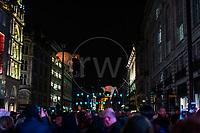 Les Lumineoles, Porte par le vent, Lumiere London  16th January 2016<br /> <br /> Images taken by Richard Washbrooke Photography
