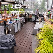 THA/Bangkok/20180722 - Vakantie Thailand 2018, rooftop bar hotel Bangkok