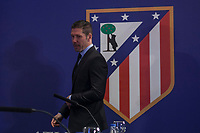 Diego Pablo `Cholo´ Simeone during his contract renewal announcement as Atletico de Madrid´s coach until 2020, in Madrid, Spain. March 24, 2015. (ALTERPHOTOS/Victor Blanco)
