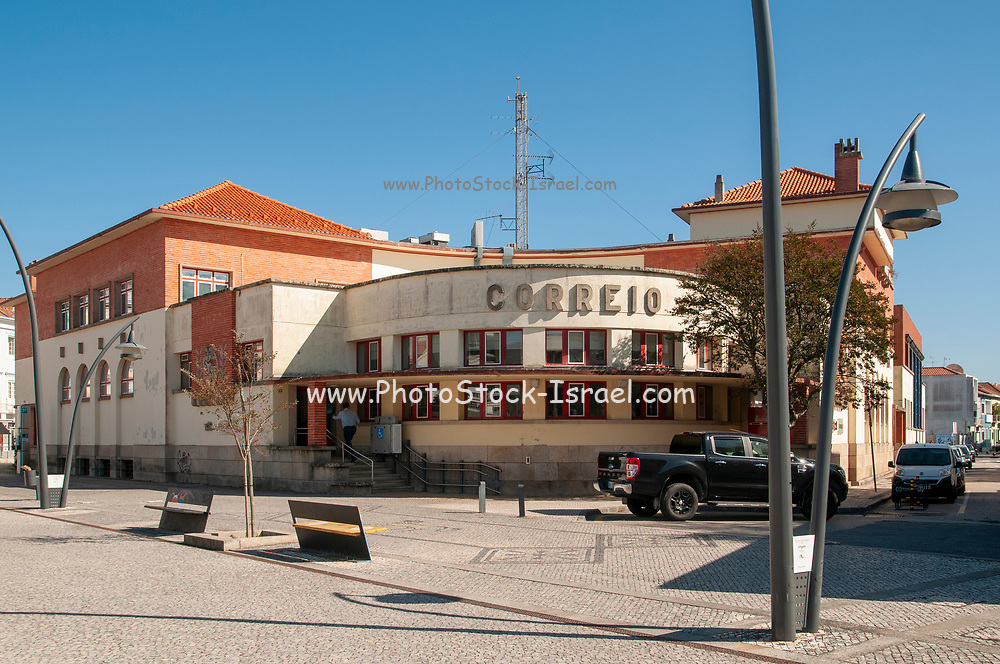 Central Post office building, Aveiro, Portugal