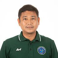 THAILAND - APRIL 09: Head Coach Surapong Khongthep of Samut Prakan City FC on April 09, 2019.<br /> .<br /> .<br /> .<br /> (Photo by: Naratip Golf Srisupab/SEALs Sports Images/MB Media Solutions)