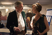 THE EARL OF KINNOUL; IONA DUCHESS OF ARGYLL;, The Royal Caledonian Ball 2017, Grosvenor House, 29 April 2017
