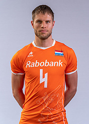 Thijs Ter Horst of Netherlands, Photoshoot selection of Orange men's volleybal team season 2021on may 11, 2021 in Arnhem, Netherlands (Photo by RHF Agency/Ronald Hoogendoorn)