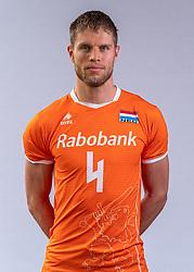 Thijs Ter Horst of Netherlands, Photoshoot selection of Orange men's volleybal team season 2021on may 11, 2021 in Arnhem, Netherlands (Photo by RHF Agency/Ronald Hoogendoorn)