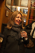 RACHEL COOKE, The Omnivore hosts the third Hatchet  Job of the Year Award. Sponsored by the Fish Society.  The Coach and Horses. Greek st. Soho. London. 11 February 2014.