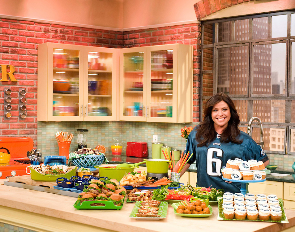 """Rachael Ray on the set of  """"The Rachael Ray Show"""" for advertising campaign focused on Philidelphia.  Photo: David E. Steele/The Rachael Ray Show"""