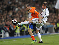 Zuerichs Xavier Margairaz gegen Sergio Ramos. © Melanie Duchene/EQ Images