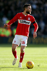 Middlesbrough's Jonathan Howson during the Sky Bet Championship match at The Riverside Stadium, Middlesbrough.
