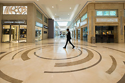 Interior of Moda Mall  shopping mall in Manama, Bahrain