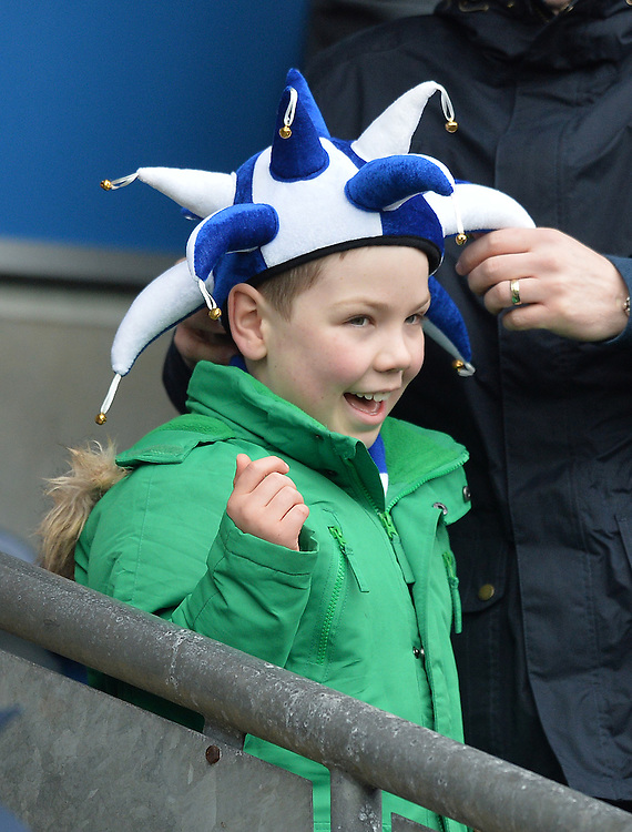 Fans<br /> <br /> Photographer Dave Howarth/CameraSport<br /> <br /> Football - The FA Cup Fifth Round - Blackburn Rovers v West Ham United - Sunday 21st February 2016 - Ewood Park - Blackburn<br /> <br /> © CameraSport - 43 Linden Ave. Countesthorpe. Leicester. England. LE8 5PG - Tel: +44 (0) 116 277 4147 - admin@camerasport.com - www.camerasport.com