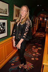 EMILY CROMPTON-CANDY at the launch of GP Nutrition held at Annabel's, 44 Berkeley Square, London on 26th January 2016.